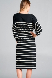 Ellison Striped Ellie Dress - Front full body