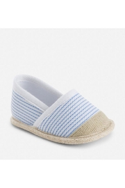 Mayoral Striped Espadrille - Front cropped