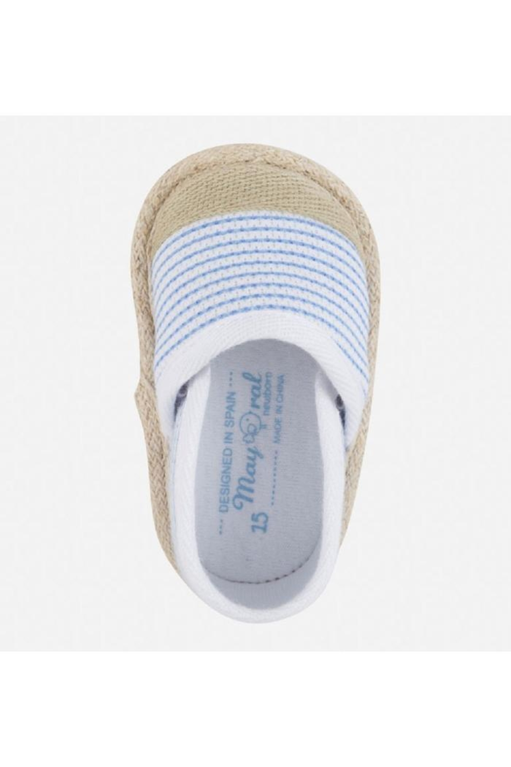 Mayoral Striped Espadrille - Front Full Image