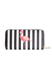 May 23 Striped Flamingo Wallet - Product Mini Image