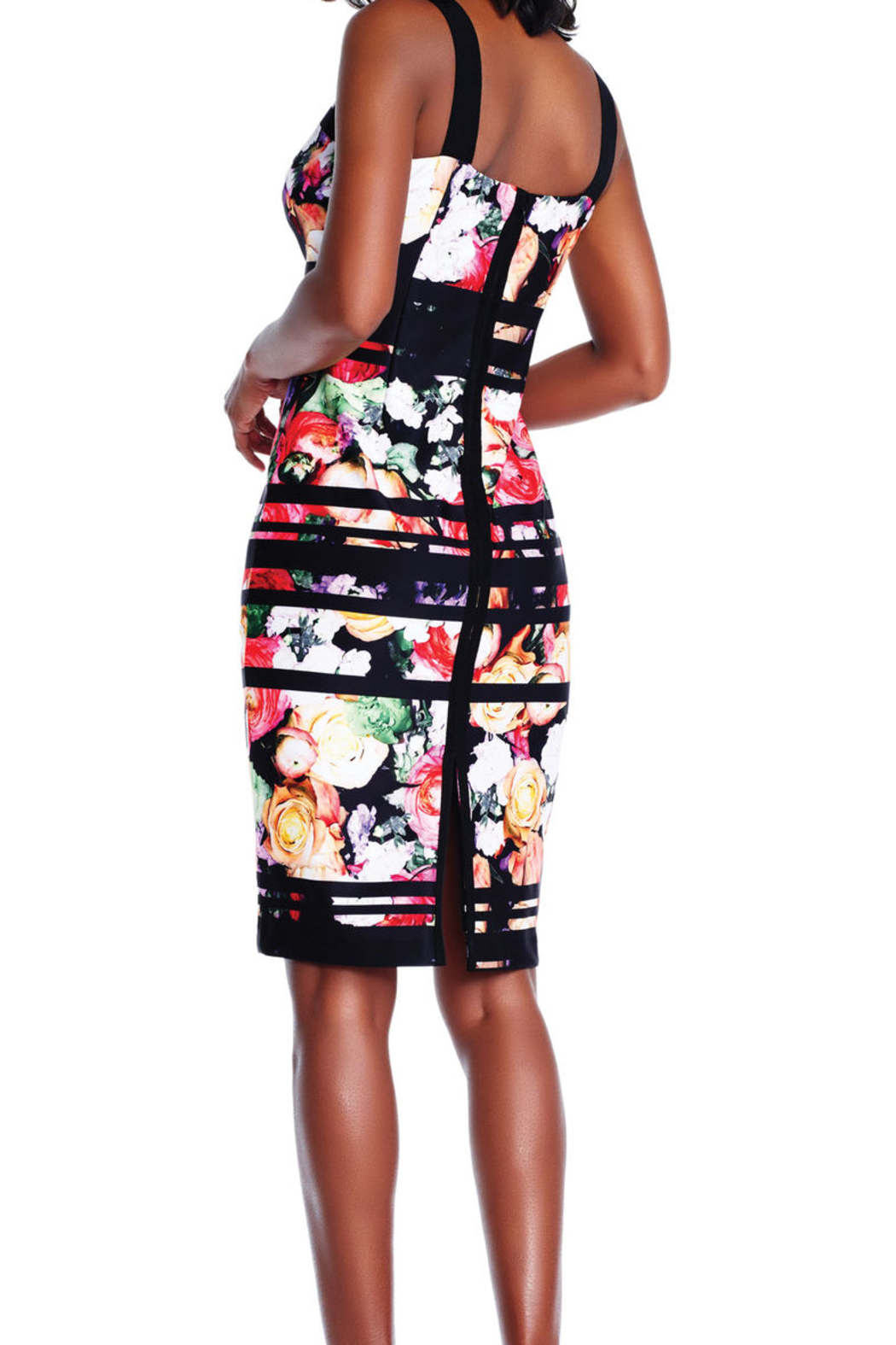 Adrianna Papell Striped Floral Dress from Ohio by e.j. hannah ...