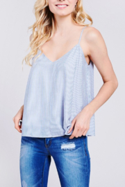 Caramela Striped Flowy Tank - Product Mini Image