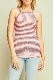 Entro Striped Halter Top - Product Mini Image