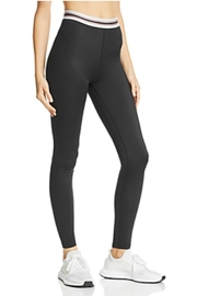 Beyond Yoga Striped High-Waisted Legging - Front cropped
