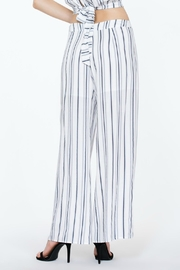 The Room Striped Highwaisted Pant - Front full body