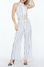 The Room Striped Highwaisted Pant - Side cropped
