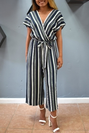 Le Lis Striped Janna Jumpsuit - Product Mini Image