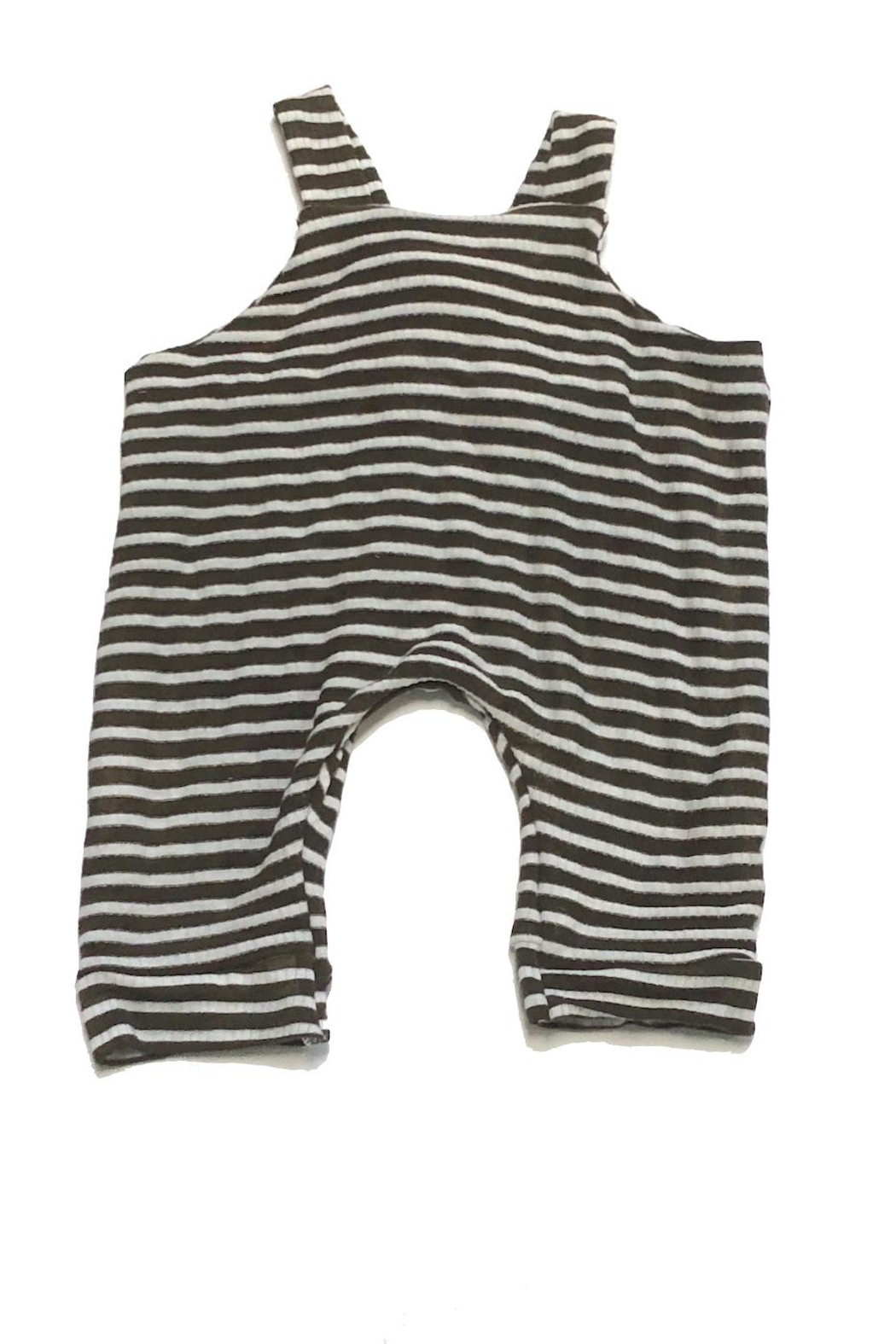 Hankie Babies Striped Jersey Romper - Front Cropped Image