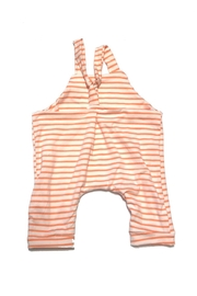 Hankie Babies Striped Jersey Romper - Front full body