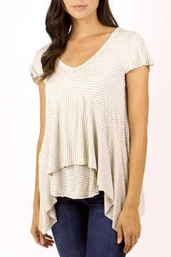 Grace & Lace Striped Jersey Tee - Product List Image