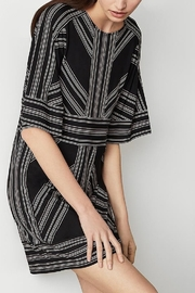 BCBG MAXAZRIA Striped Jersey Tunic Dress - Product Mini Image
