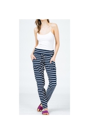 American Chic Striped Jogger Pants - Product Mini Image