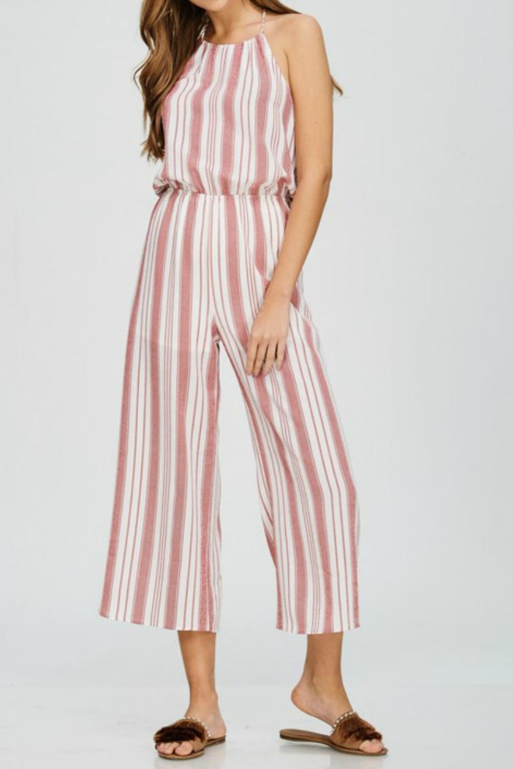 5140516a29be3 Emory Park Striped Jumpsuit from Tennessee by Threads — Shoptiques