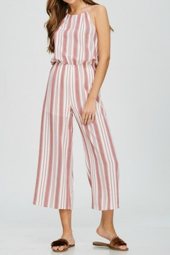 Emory Park Striped Jumpsuit - Product List Image