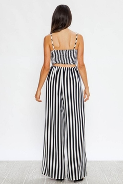 Flying Tomato Striped Jumpsuit - Alternate List Image