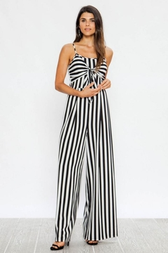 Flying Tomato Striped Jumpsuit - Product List Image