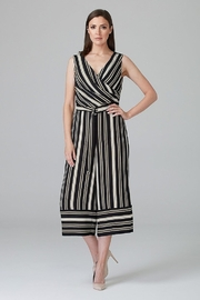 Joseph Ribkoff STRIPED JUMPSUIT - Front cropped