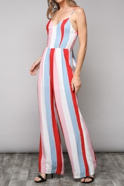Do & Be Striped Jumpsuit - Product Mini Image