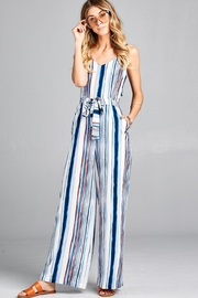 hummingbird Striped Jumpsuit - Product Mini Image