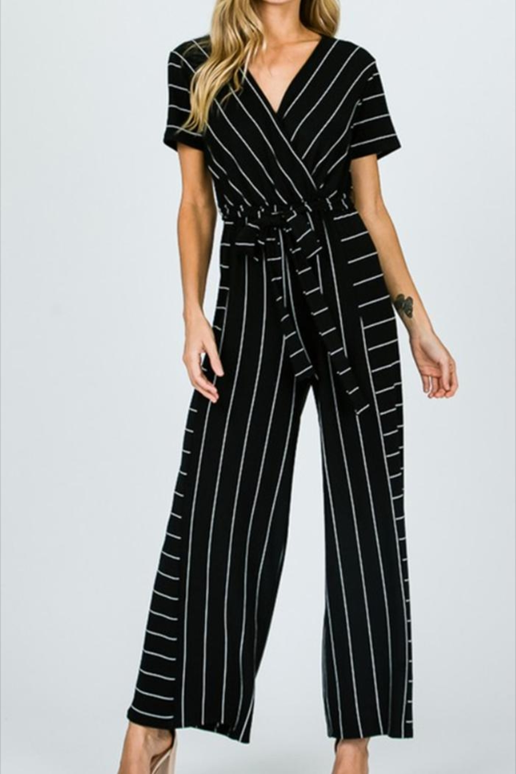 dfe273161738 Ces Femme Striped Jumpsuit from Mississippi by Angie s Boutique ...