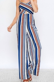 Flying Tomato Striped Jumsuit - Front cropped
