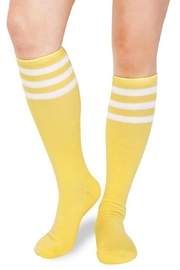 May 23 Striped Knee Socks - Product Mini Image