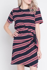 Dreamers Striped Knit Dress - Product Mini Image