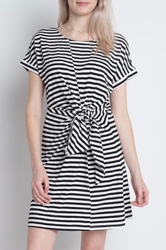 Dreamers Striped Knit Dress - Product List Image