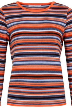 Skovhuus Striped Knit Pullover - Product List Image