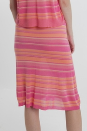 Thread+Onion Striped Knit Skirt - Side cropped