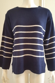 Promesa Striped Knit Sweater - Product Mini Image