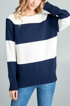 Ellison Striped Knit Sweater - Product List Image