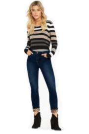 Charlie B. Striped Knit Sweater - Product Mini Image