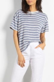 Mod Ref Striped Knit Top - Product Mini Image