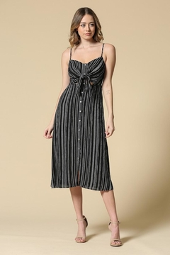 Illa Illa Striped Knot Midi - Product List Image