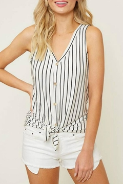 Shoptiques Product: Striped Knot Tank