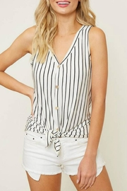 Fantastic Fawn Striped Knot Tank - Product Mini Image