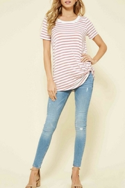 Promesa USA Striped Knot Top - Product Mini Image