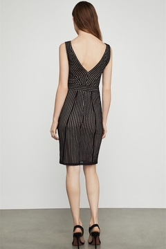 BCBG Max Azria Striped Lace Sheath Dress - Alternate List Image