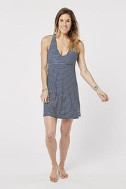 Carve Designs Striped Lajolla Dress - Front cropped