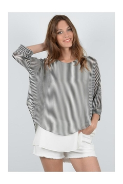 Shoptiques Product: Striped Layer Tunic
