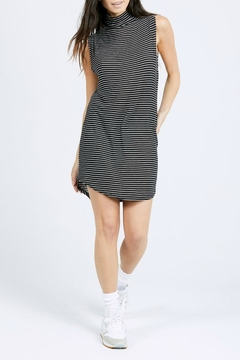 Joah Brown Striped Lennox Dress - Product List Image