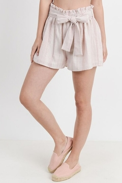 Paper Crane Striped  lined shorts - Product List Image