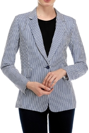 OVI Striped Linen Blazer - Product Mini Image