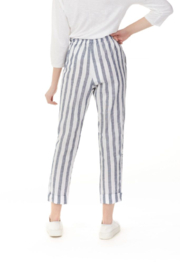 Charlie B Striped Linen Pant - Side cropped