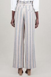 Current Air Striped Linen Pant - Front full body
