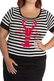 Hell Bunny Striped Lobster Top - Product Mini Image