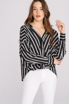 Shoptiques Product: Striped Long Sleeve