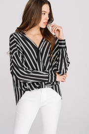 Main Strip Striped Long Sleeve - Product Mini Image
