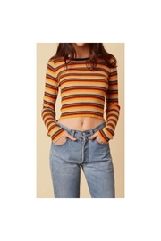 Trend Shop Striped Long Sleeve - Product Mini Image
